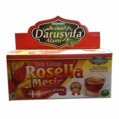 Darussyifa Teh Bunga Rosella Celup Original - 1Dus isi 20 teh celup