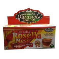 Darussyifa Teh Celup Rosella 2 Dus isi 40 Sachet