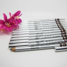Davis Waterproof Eyebrow Eyeliner Lipliner - David Pensil Alis Silver - Brown