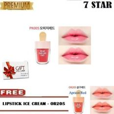 Dear Darling Tint Ice Cream Limited Edition PK005 + FREE Dear Darling Water Gel tint 4.5g Apricot Red Ice Cream - OR205