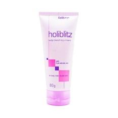 DeBiuryn HoliBlitz - Whitening Bleaching Cream / Krim Pemutih Ketiak Underarm dan Selangkangan - 80 gr