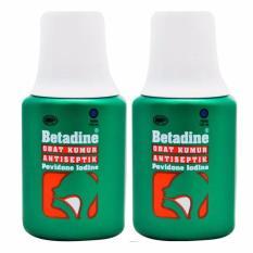 Delin Store - Betadine Obat Kumur 100 ml 2 Botol Bisa COD