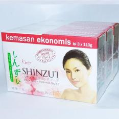 Delin Store - Shinzui Skin Lightening Soap 3 Pcs Bisa COD