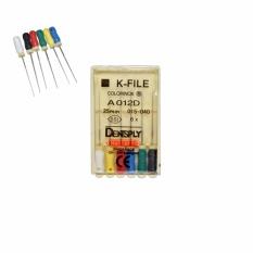 Spesifikasi Denshine 1 Pack Niti Fleksibel Penggunaan Tangan Saluran Akar Gigi Gigi K File 015 040 25Mm Intl Online
