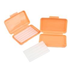 Denshine 10 Bungkus Orthodonsi Gigi Ortho Lilin untuk Kawat Gigi Iritasi (Orange-Orange Aroma)-Intl