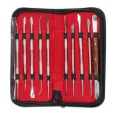 Jual Dental Lab Stainless Steel Kit Wax Carving Tool Set Instrument Intl Termurah