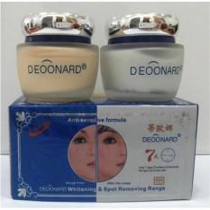 Jual Deoonard Blue 7 Days Whitening Spot Removing Range Paket Perawatn Wajah Cream Siang Malam Termurah