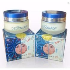 Deoonard - Paket Perawatan Wajah Deoonard Blue 7 Days 20gr Cream Malam, Siang Dan Sabun WhiteningIDR86900. Rp 88.000
