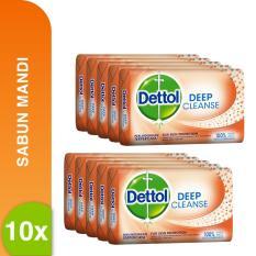 Jual Dettol Barsoap Deep Cleanse 105 Gr Super Hemat Isi 5 Pcs X 2 Dettol Asli