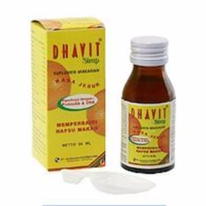 Delin Store - Dhavit Syrup 2 botol / Vitamin Anak / Obat Murah / Bisa COD