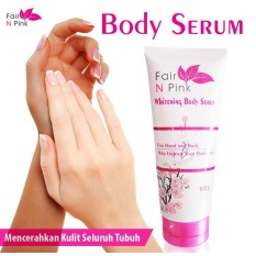 Promo Di Jamin Ori Fair N Pink Whitening Body Serum 160 Ml Original Serum Pemutih Badan Multi Terbaru