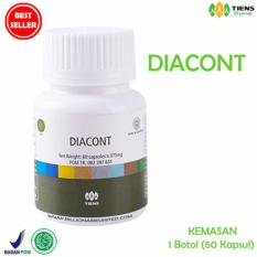 Harga Diacont Tiens Herbal Solusi Diabetes Menormalkan Gula Darah Tiens Supplement Original