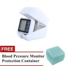 Toko Free Protection Container Digital Upper Arm Blood Pressure Pulse Monitors Tonometer Portable Health Care Bp Blood Pressure Monitor Meters Sphygmomanometer Asian Trends Tiongkok