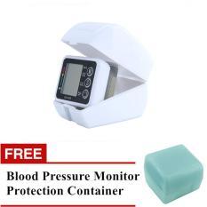 Beli Free Protection Container Digital Upper Arm Blood Pressure Pulse Monitors Tonometer Portable Health Care Bp Blood Pressure Monitor Meters Sphygmomanometer Online Terpercaya