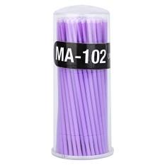 Bulu Mata Sekali Pakai Cleaning Stick Mascara Brush Cotton Swab Alat Ungu-Intl