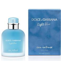 Promo Dolce Gabbana Light Blue Eau Intense Edp 100Ml Men Murah