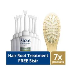 Beli Dove Conditioner Treatment Root Hair Fall 7Ml Free Wooden Comb Dove