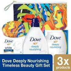 Spesifikasi Dove Deeply Nourishing Timeless Beauty Gift Set Random Motif Lengkap