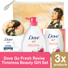 Beli Barang Dove Go Fresh Revive Timeless Beauty Gift Set Random Motif Online