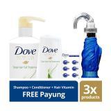 Toko Dove Hair Fall Treatment Paket Perawatan Rambut Free Payung Yang Bisa Kredit