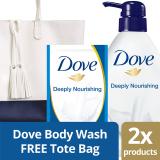 Beli Dove Nourishing Body Wash Free Tote Bag Dove Dengan Harga Terjangkau