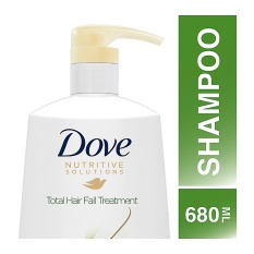 Dove Shampoo Nutritive Solutions Total Hair Fall Treatment 680Ml
