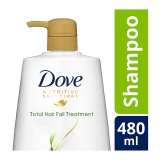 Toko Dove Total Hair Fall Treatment Shampoo 480 Ml Dove Di Jawa Barat