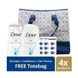 Diskon Dove Volume Nourishment Paket Perawatan Rambut Free Tote Bag Akhir Tahun