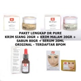 Jual Dr Pure Paket Cream Whitening Soap Serum Original Terdaftar Bpom 4 Item Murah Di North Sumatra