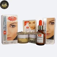 Toko Dr Pure Paket Komplit Care Cream Day Night Transparant Soap Serum Original Bpom 4 Item Termurah North Sumatra