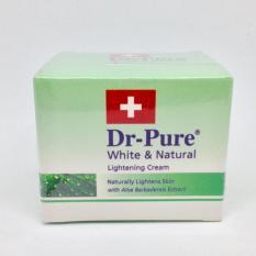 Diskon Dr Pure White And Natural Lightening Cream Akhir Tahun