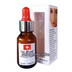 Toko Dr Pure Whitening Serum Arbutin 20Ml Serum Wajah Lengkap North Sumatra