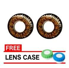 Harga Dreamcolor1 Softlens Pear Brown Gratis Lens Case Origin