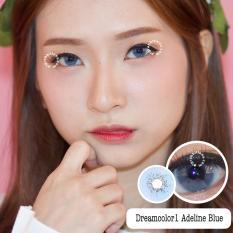 Harga Dreamcolor1 Adeline Blue Softlens With Uv Protection Gratis Lenscase Baru
