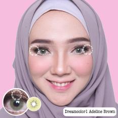 Top 10 Dreamcolor1 Adeline Brown Softlens Minus 3 00 Gratis Lenscase Online