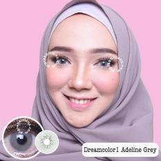 Jual Dreamcolor1 Adeline Grey Softlens With Uv Protection Gratis Lenscase Dreamcolor1