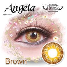 Toko Jual Dreamcolor1 Angela Brown Softlens With Uv Protection Gratis Lenscase