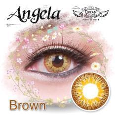 Toko Dreamcolor1 Angela Brown Softlens With Uv Protection Gratis Lenscase Termurah