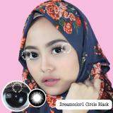 Beli Dreamcolor1 Circle Black Softlens Minus 75 Gratis Lenscase Baru