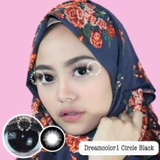 Review Dreamcolor1 Circle Black Softlens Minus 2 25 Gratis Lenscase Di Indonesia