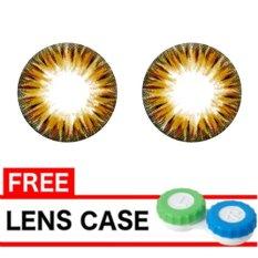 Harga Dreamcolor1 Donut Softlents 14 50 Mm Brown Gratis Lens Case Fullset Murah