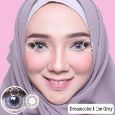 Toko Dreamcolor1 Ice Grey Softlens Minus 1 00 Gratis Lens Case Lengkap
