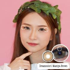 Jual Dreamcolor1 Mamiya Brown Softlens Minus 50 Gratis Lenscase Dreamcolor1 Murah