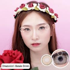 Toko Dreamcolor1 Matake Brown Softlens Minus 50 Gratis Lenscase Online Terpercaya