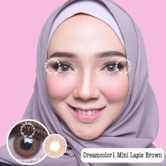 Beli Barang Dreamcolor1 Mini Lapis Brown Softlens Minus 00 Normal Gratis Lenscase Online