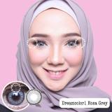 Dreamcolor1 Rosa Grey Softlens Minus 4 75 Gratis Lenscase Original