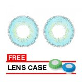 Dreamcolor1 Softlens Nobluk Blue Gratis Lens Case Original