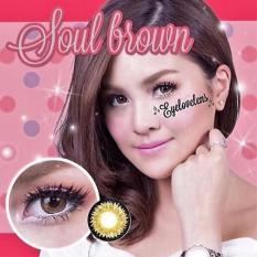 Review Toko Dreamcolor1 Soul Softlens Brown Free Lenscase Online