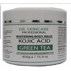 DSC Whitening Body Mask Kojic Acid  Masker Pemutih Badan Berkahhoney