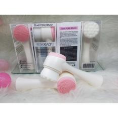 Dual Pore Brush 2In1 Alat Pembersih Wajah Feishi Xiaopu Face Massager Lucky Diskon